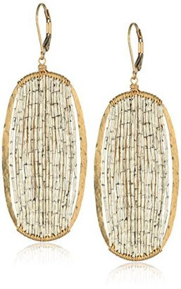 Dana Kellin Stunning Frames Brimming with Sterling Silver Embellished Beads Earrings