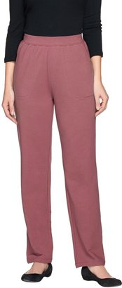 Denim & Co. Active Tall French Terry Pull-on Pants
