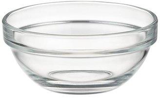 """Crate & Barrel Glass 4"""" Bowl"""