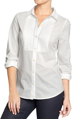 Old Navy Women's Pintucked Button-Front Tunics