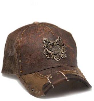 Rustix Eagle Brown Leather Hat