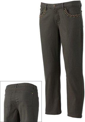 Apt. 9 color skinny crop jeans