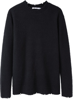 Alexander Wang distressed wool pullover