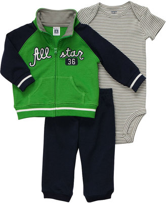 Carter's Baby Set, Baby Boys 3-Piece Striped All-Star Set