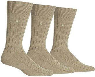 Chaps Men's 3-pk. Ribbed Dress Socks