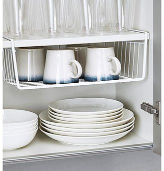 Container Store Small Undershelf Basket White