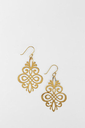 Urban Outfitters Delicate Scroll Earring