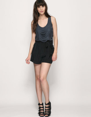 Warehouse Silky Paperbag Waist Short