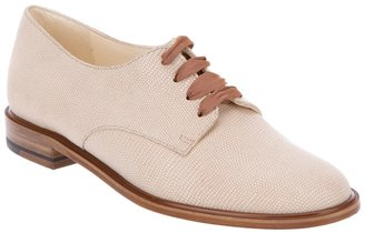 Robert Clergerie textured leather lace-up