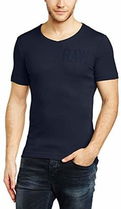 G Star G-Star Men's Art V-Neck Short Sleeve T-Shirt