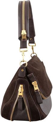 Tom Ford Jennifer Large Suede Shoulder Bag