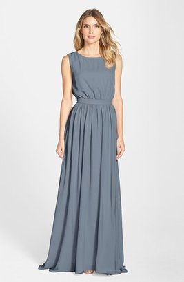 Paper Crown by Lauren Conrad 'Tori' Crepe Gown $280 thestylecure.com