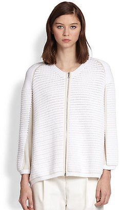 3.1 Phillip Lim Chunky Knit-Front Cardigan