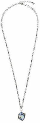 Uno de 50 Iceberg Crystal and Silver Pendant Necklace