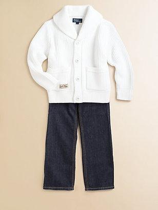 Ralph Lauren Toddler's & Little Boy's Shawl Cardigan