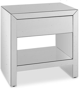 Williams-Sonoma Harrington Mirrored Side Table