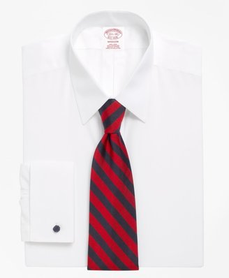 Brooks Brothers Madison Classic-Fit Dress Shirt, Non-Iron Point Collar French Cuff