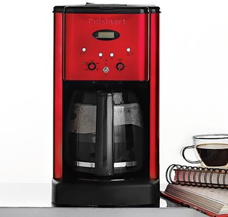 "Cuisinart Brew Central"" 12-Cup Programmable Coffee Maker, Red"
