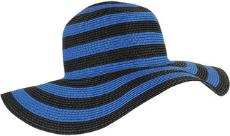 Forever 21 Classic Striped Floppy Hat