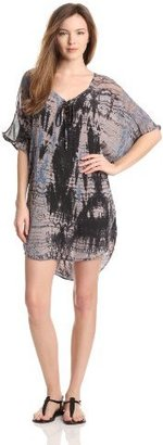 Gypsy 05 Women's Bima Lace Front Dolman Sleeve Dress