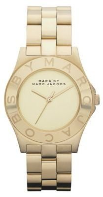 Marc by Marc Jacobs Ladies' Bold Gold Watch