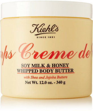 Kiehl's Since 1851 - Crème De Corps Soy Milk & Honey Whipped Body Butter, 340g - one size $48 thestylecure.com