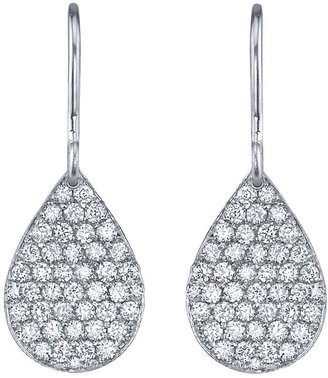 Irene Neuwirth pear drop diamond earrings