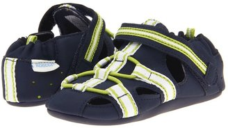 Robeez Beach Break Mini Shoez (Infant/Toddler) (Navy) - Footwear