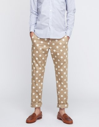 Mark McNairy Dot Chino Pant