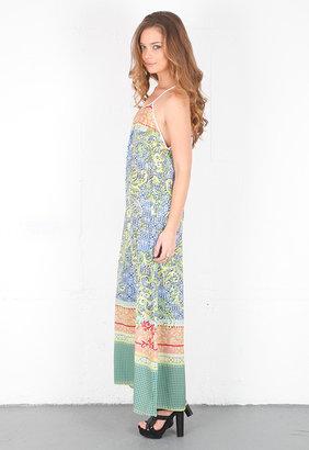 Singer22 Clover Canyon Filigree Scarf Dress in Multi