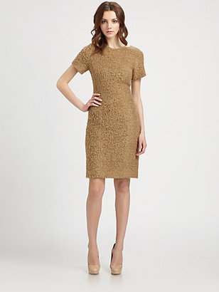 Lotusgrace Chenille Sheath Dress