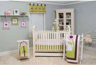 Pam Grace Creations Sophia's Garden 10-Piece Crib Bedding Set