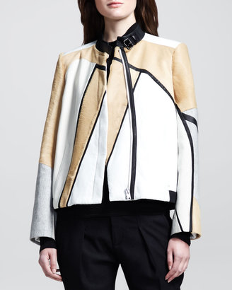 Helmut Lang Boxy Segment Suiting Jacket