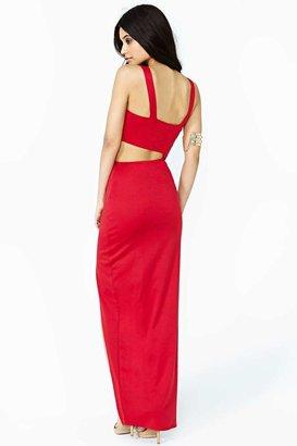 Nasty Gal Duplicity Maxi Dress