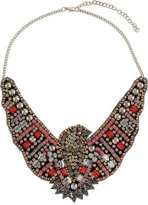 Topshop Eagle Bead Collar