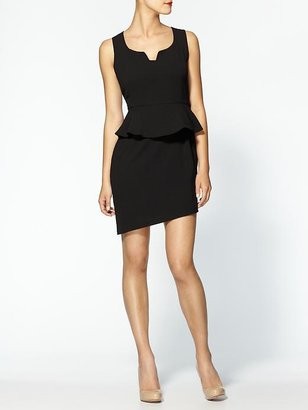 C.Luce Peplum Mini Dress