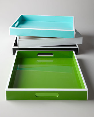 "Horchow Swing Design ""Elle"" Lacquer Trays"