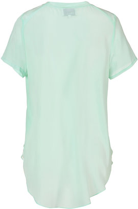 3.1 Phillip Lim Silk Crewneck T-Shirt