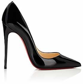 Christian Louboutin Women's So Kate Patent Leather Pumps - Bk01 Black