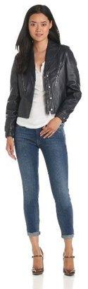 Twenty8Twelve Women's Mason Leather Motorcycle Jacket