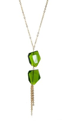 K. Amato 2 Giant Crystal Necklace