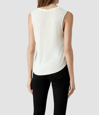 AllSaints Gato Cropped Top