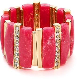 Aqua Marble Stretch Bracelet