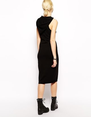 One Teaspoon 90s Knitted Hooded Dress
