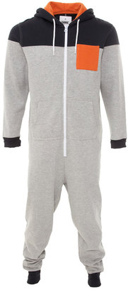 Republic Fabric Panel Mens Onesie