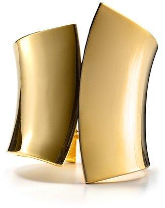RJ Graziano Polished Gold Cuff