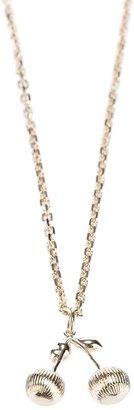 Chloé cherry charm necklace