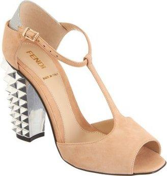 Fendi Polifonia T-Strap Sandal