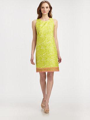 Elie Tahari Venezia Cotton/Silk Dress