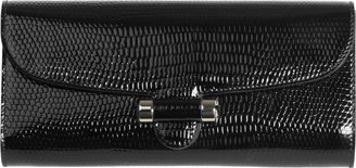 Yves Saint Laurent Patent Leather Sac Muse Clutch